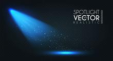 Spotlight. Transparent Light E...