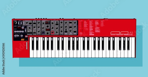 Photo Realistic detailed vector synthesizer
