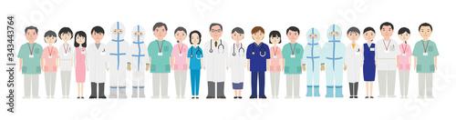 Photo たくさんの医療従事者たち2