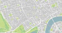 Detailed Map Of Mayfair, Soho,...