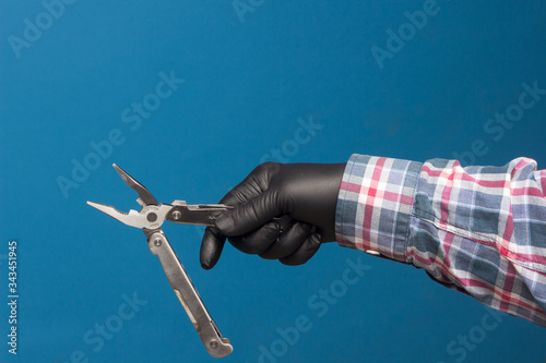 Fotografie, Tablou Multipurpose tool to get out of trouble at a certain time