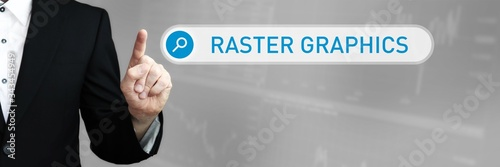 Obraz na plátně Raster Graphics