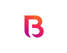 Letter B Logo Icon Design Temp...