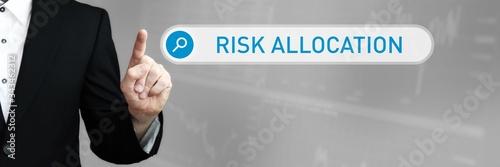 Risk Allocation Canvas Print