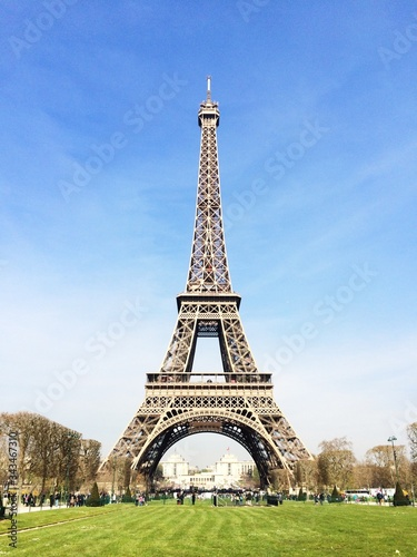 Fotografía Eiffel Tower Against Sky