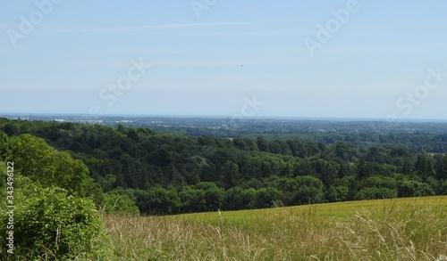 Fototapeta Krajobraz na okolicę miasta Chichester w Anglii obraz