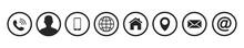 Contact Us Icons. Web Icon Set...