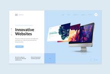 Website Template Design. Moder...