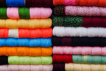Colorful Threads For Sewing