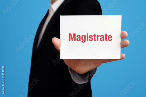 Fotografija Magistrate