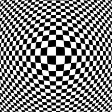 Black And White Checkered Opti...