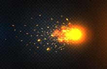 Fire Sparks Of Metal Welding I...
