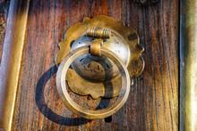 Antique Copper Door Handle Vin...