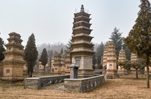 Pagoda Forest At Shaolin Templ...