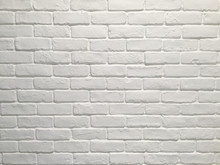 Full Frame Shot Of White Brick...