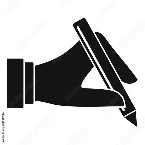 Photo Pen biometric authentication icon