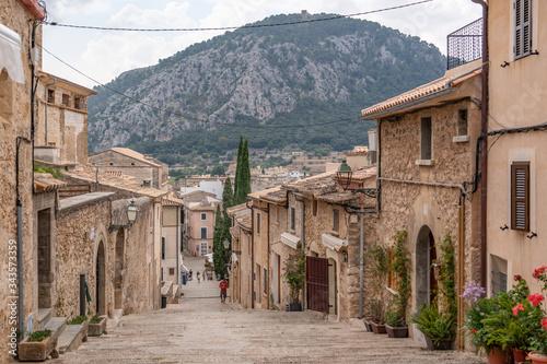 The 365 Calvari Steps in Pollenca Fototapet