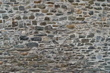 Texture Of A Stone Wall. Old C...