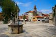Leinwandbild Motiv 5 Wells Square in the old town of Zadar, Croatia