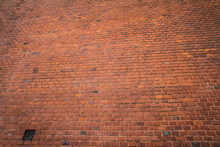 Brick Wall In Close Up