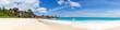 Leinwanddruck Bild - Seychelles Grand Anse beach La Digue island panoramic panorama view vacation holidays travel traveling