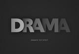 Dramatic Dark Shaded Text Effect - 343613965