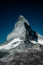 Low Angle View Of Matterhorn M...