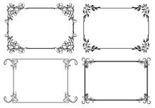 Set Of Four Decorative Stylish...