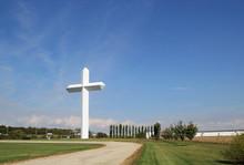 Cross At The Crossroads At Effingham Illinois