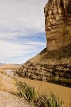 View Of Rio Grande At Big Bend...
