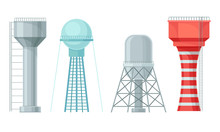 Water Towers Or Tank Houses Ma...