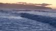 Cinematic Aerial of Pacific Ocean Oahu Island in Hawaii