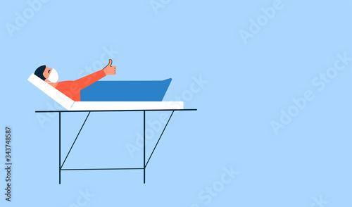 Fotografie, Tablou Modern vector illustration in flat style