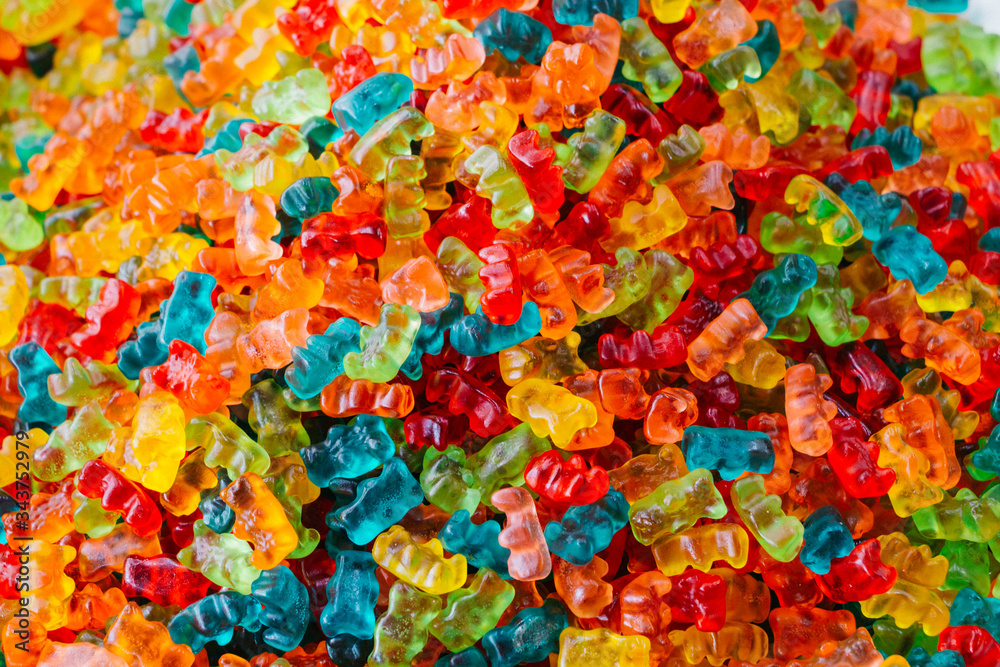 Obraz Full Frame Shot Of Gummy Bears fototapeta, plakat