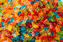 Full Frame Shot Of Gummy Bears