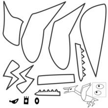 Reptiles Dinosaur (Pterosaur, Pterodactyl, Pteranodon, Quetzalcoatlus, Dimorphodon, Tapejara, Hatzegopteryx, Azhdarchidae, Rhamphorhynchus, Ornithocheirus, Nemicolopterus, Nictosaurus, Pterodaustro )
