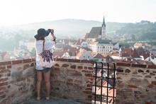 Photographer Tourist Taking Pi...