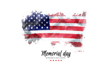 Memorial Day Background Illust...