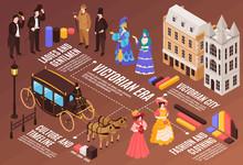 Victorian Era Infographics Ill...