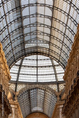Galleria Vittorio Emanuele Milano Canvas Print