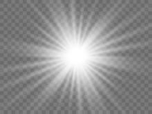 Sunlight On A Transparent Back...