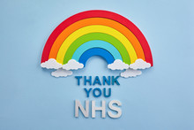 Thank You Nhs Rainbow Banner. ...