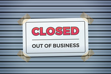 CLOSED Out Of Business Shop Si...
