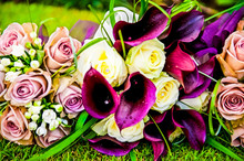 Picture Of A Wedding Bouquet ,...