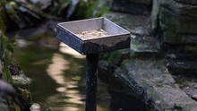 Birdhouse And Feeding Place At...