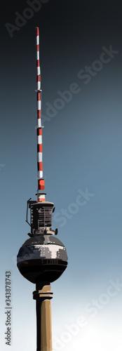 high tower alexanderplatz Berlin architecture Canvas Print
