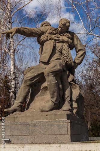 Foto Mamaev Kurgan, Volgograd, Russia - march 21, 2020