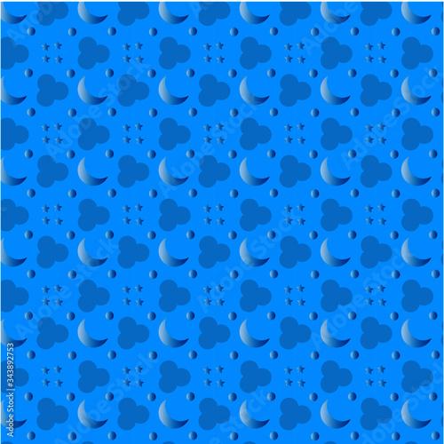 Textura cielo azul claro Canvas Print