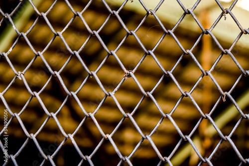 Fototapety, obrazy: Full Frame Shot Of Chainlink Fence