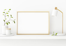 Interior Poster Mockup With Ho...